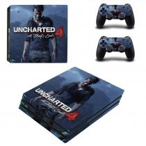 OEM PS4 Pro Polep Skin Uncharted