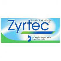 Zyrtec 10mg 20 tablet