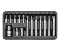 Compass Sada bitů 15 ks TORX box