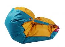 BeanBag 189x140 duo Golden-Sea Green