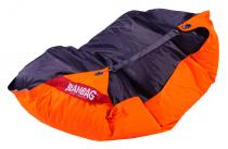BeanBag 189x140 duo Fluo Orange-Licorice