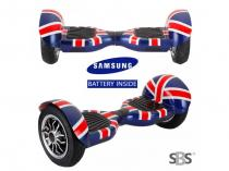 Actionbikes Mini hoverboard Offroad England + BT reproduktor a ovladač