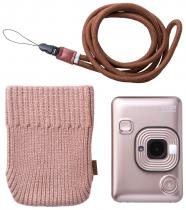 Fujifilm Instax Liplay Blush Gold Bundle Soft