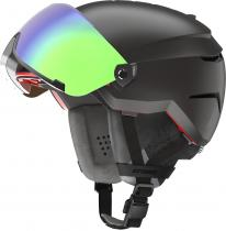 Atomic Savor Amid Visor HD, black, 20/21