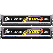 Corsair DIMM DDR3 4GB, 1333Mhz, CL9, (KIT 2x2GB)