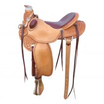 BOWMAN B-LIGHT RANCH & TRAIL SADDLE 9466 westernové sedlo USA