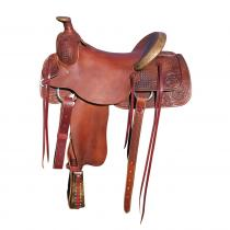 BOWMAN WILL JAMES RANCH ROPER SADDLE 8316 westernové sedlo USA
