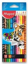 MAPED trojboké Color'Peps Animals 12ks