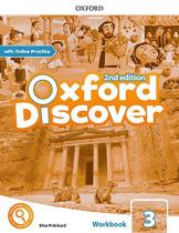 Oxford Discover 3 Workbook with Online Practice (2nd)