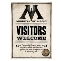 HALF MOON BAY Harry Potter - Ministry Of Magic, (15 x 21 cm)