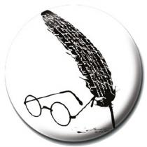 Pyramid International Placka Harry Potter - Glasses and Feather