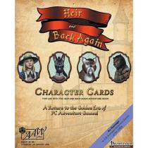 AAW Games Heir & Back Again Pathfinder RPG Character Cards