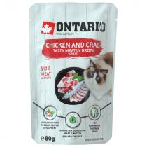 Ontario Chicken and Crab in Broth 80g