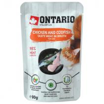 Ontario Chicken and Codfish in Broth 80g