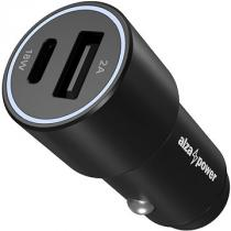 AlzaPower Car Charger P520 USB + USB-C Power Delivery