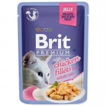 Brit cat adult Premium with Chicken Fillets jelly 85 g