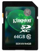 KINGSTON 64GB SDXC Class 10