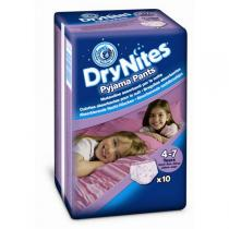 Huggies Dry Nites Medium - Girls 10ks